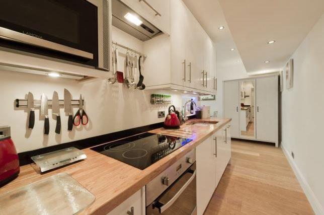 Kitchen basement flat London SW3 #cutlerandbond #basementflat #gardenflat #londonproperty