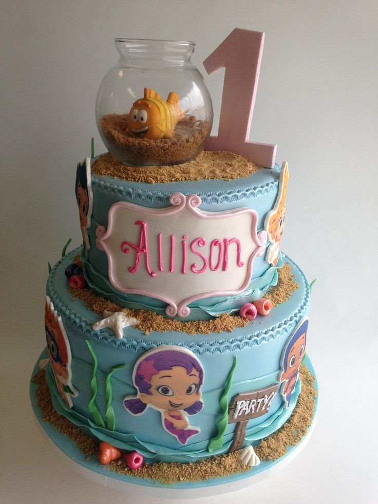 Bubble Guppies cake (3633) | Flickr - Photo Sharing!