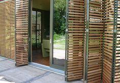 houten lamellen terras overkapping - Google zoeken