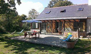 Assérac, Maison de vacances avec 2 chambres pour 6 personnes. Réservez la location 1252251 avec Abritel. Maison campagne proche mer - Asserac / Penestin - de Terre et de Mer