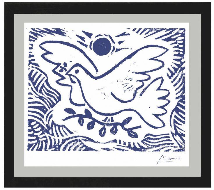 начала картинка голубь мира пабло пикассо картинка тысячи друзей одноклассниках