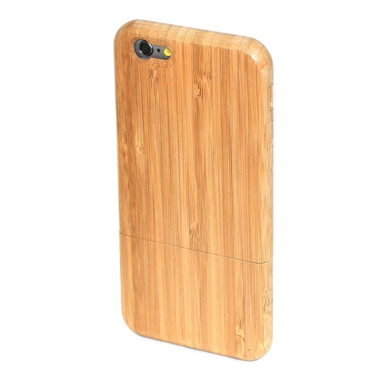 iPhone 6 Wood Case in Carbonised Bamboo