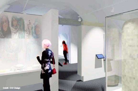 Zone Afghanistan du futur Musée Royal 22e Régiment #MR22eR #CitadelleQuébec #Ouvertureprintemps2014