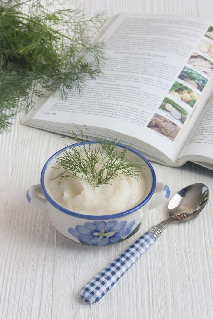 Пюре из сельдерея. Celery root puree