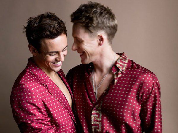 Tom Daley Hints at 'Swimwear Only,' Spring Wedding With Dustin Lance Black #Rio2016 #LGBTQ