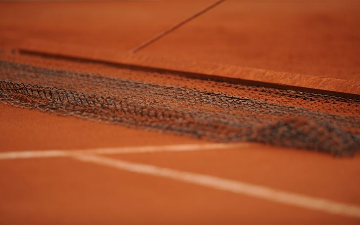 net on tennis court
