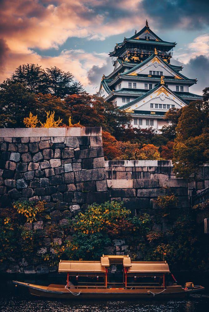 Osaka castle, Japan – #Castle #Japan #osaka