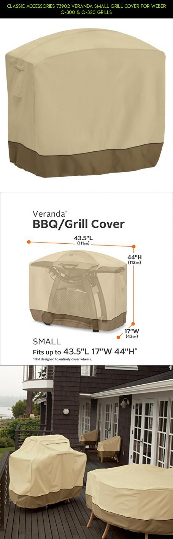 Classic Accessories 73902 Veranda Small Grill Cover For Weber Q-300 & Q-320 Grills #grills #parts #small #racing #fpv #shopping #products #tech #drone #gadgets #kit #technology #camera #plans