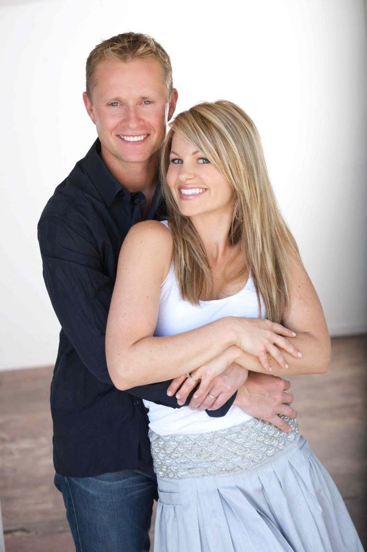 Candace Cameron Bure With Her Husband