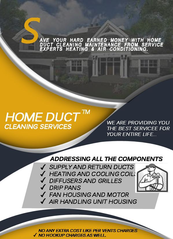 Home Duct Cleaning Offers A Variety Of Heating Ventilation And Air