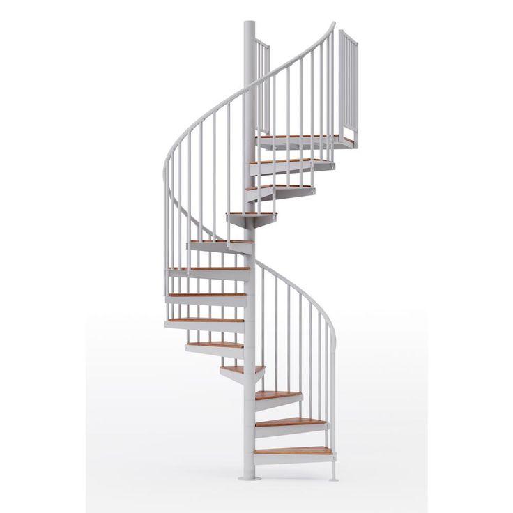Best Mylen Stairs Condor White 60 5Ft 0In Wide 15 Treads 640 x 480
