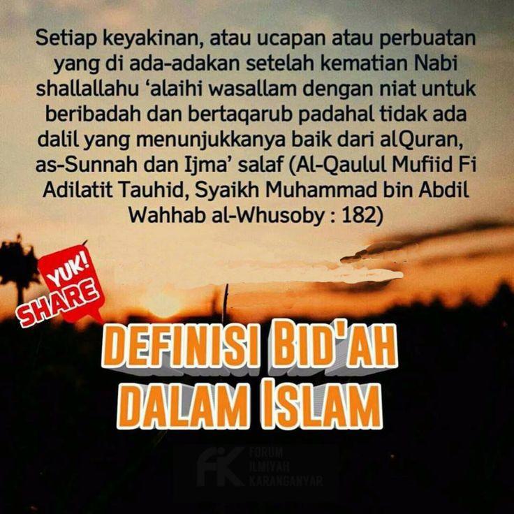 http://nasihatsahabat.com #nasihatsahabat #mutiarasunnah #motivasiIslami #petuahulama #hadist #hadits #nasihatulama #fatwaulama #akhlak #akhlaq #sunnah  #aqidah #akidah #salafiyah #Muslimah #adabIslami #DakwahSalaf # #ManhajSalaf #Alhaq #Kajiansalaf  #dakwahsunnah #Islam #ahlussunnah  #sunnah #tauhid #dakwahtauhid #alquran #kajiansunnah #keutamaan #fadhilah #fadilah  #tafsir #Shahih #Shohih #bidah #ahlibidah #ahlulbidah #arti #definisi #makna #bidah