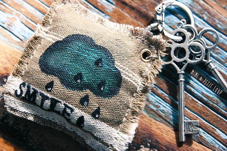 Fabriquer un porte-clés en tissu avec motif personnalisé