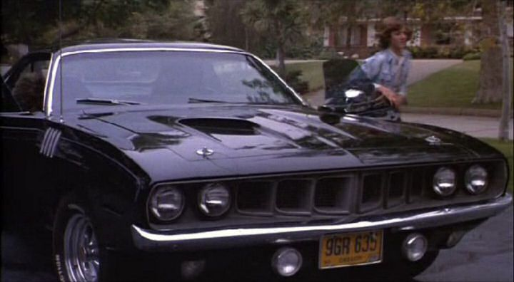 1971 Plymouth Cuda 440 6 Quot Triple Black Quot Just Like Reggie