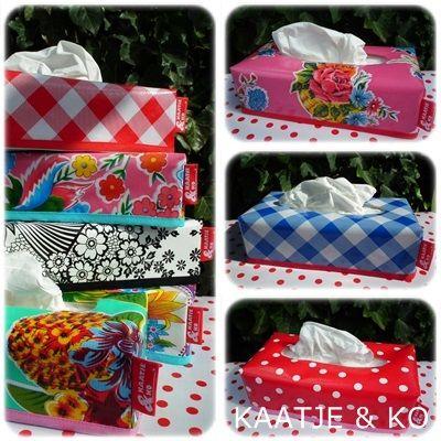 Pimp my tissue box!! Dat kan met zo'n handige hoes van Kaatje & Ko. Check www.kaatje-en-ko.com