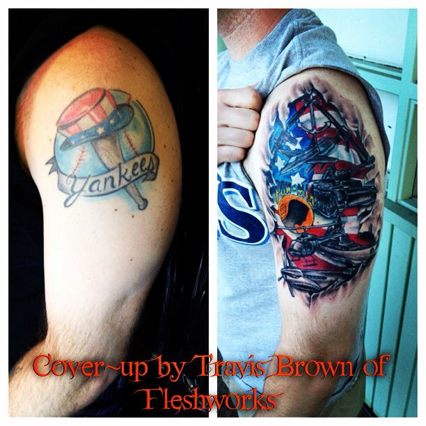 371 best images about tattoos by travis brown of for Brown tattoo ink cover up