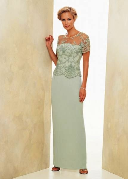 Mothers of the bride gown in periwinkle!
