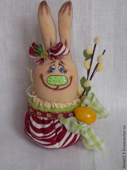 Крейзи-кролик пасхальный. смешной пасхальный кролик сидит в горшочке и не желает выходить. Очень позитивный и жизнерадостный кролик.Ищет забавный домик. Будет забавным сувениром на пасхальные праздники. Вкусно пахнет праздником!