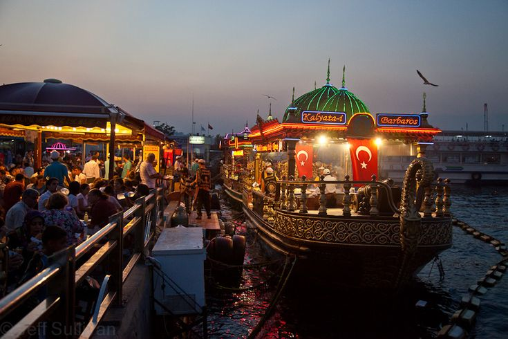 https://flic.kr/p/8xdRQE | Restaurant Boat | Near the Spice Market.