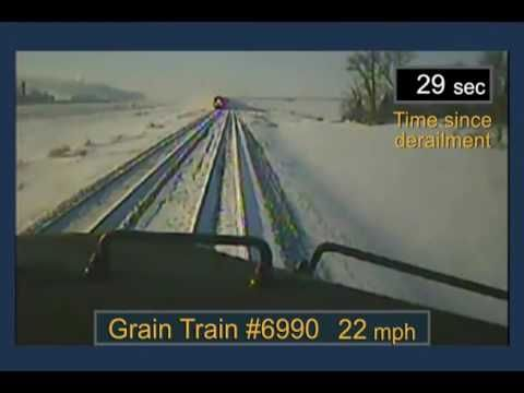 BNSF Railway Train Derailment and Subsequent Train Collision | firefighting