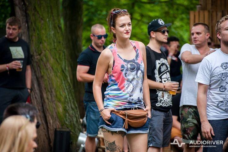 One of our fans in Ali Gulec Tank Top @audioriver