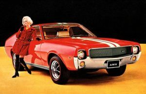 After a decade of cultivating economy car buyers, AMC spent much of the mid-1960s reinventing their image as a youth-oriented brand.