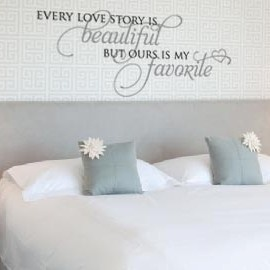 Over OUR bed! :-): Wall Art, Houses, Beds, Master Bedrooms, Bedrooms Wall Decals, Sayings Maybe, Bedrooms Decals, Bedrooms Ideas, Bedrooms Wall Quotes