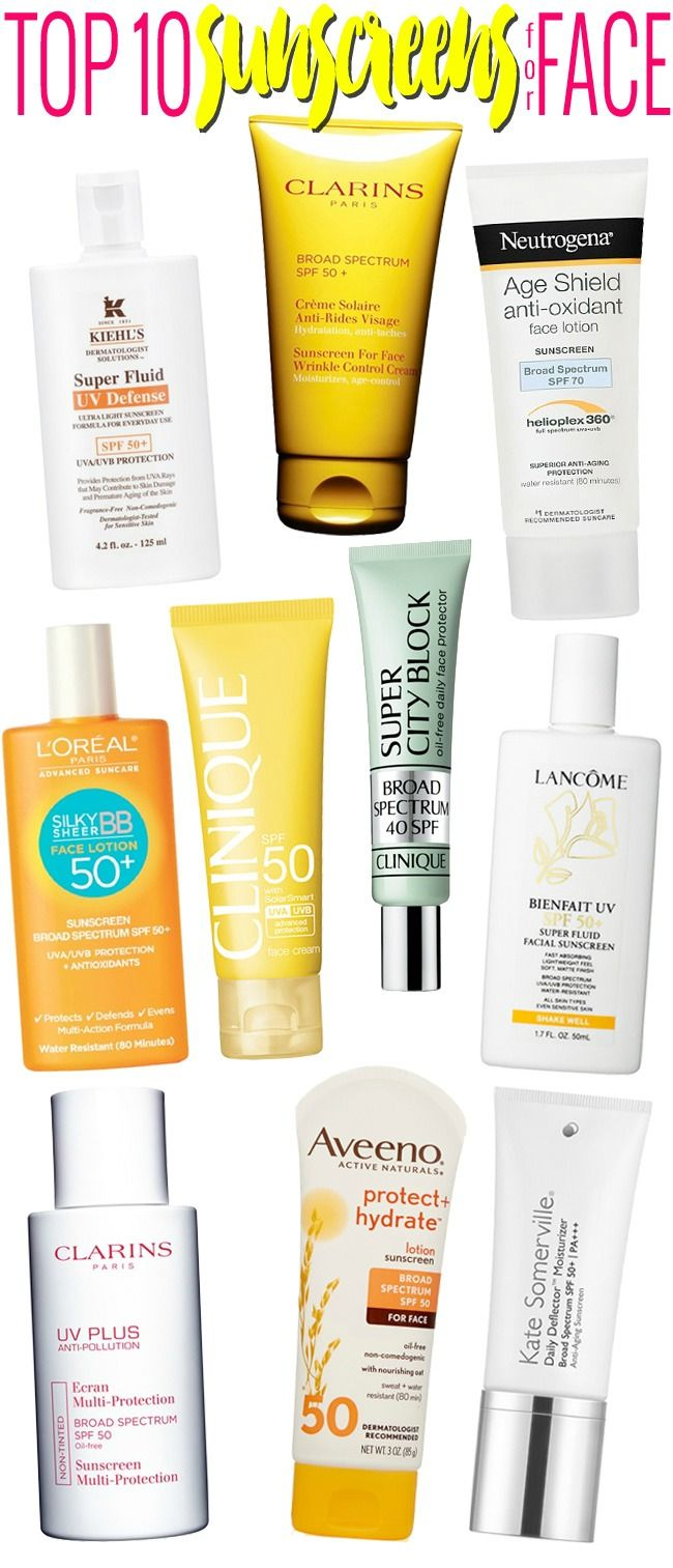 Tips to sensational summer skin - Summer Skin Care Guide Top 10 Sunscreens For Face