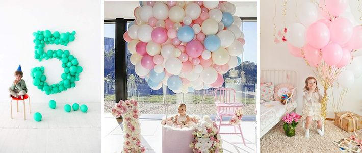 Muhteşem Doğum Günü Balon Süslemeleri - Blog | Nice Yaşlara