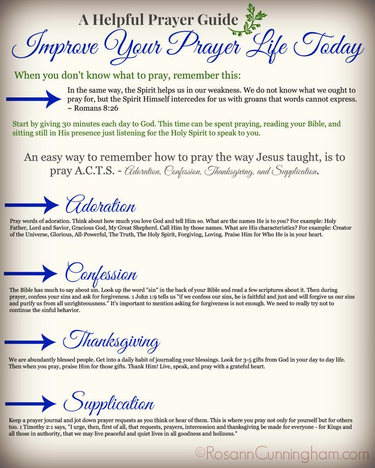 Healthy Resources | Improve Your Prayer Life | Prayer, fasting