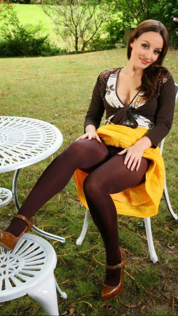 Pantyhose Model Karla Brown