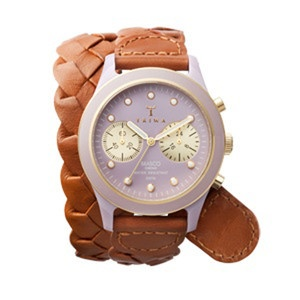 Brasco Chrono Siren now featured on Fab. Free shipping, $282, but look at the lovely watch strap...