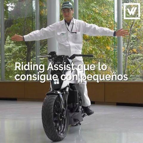 Honda ha presentado una tecnología que permite que sus motos se equilibren solas. Descubre lo mejor del CES17 aquí: http://www.rewisor.com/lo-mejor-del-ces-17-en-7-novedades-tecnologicas/