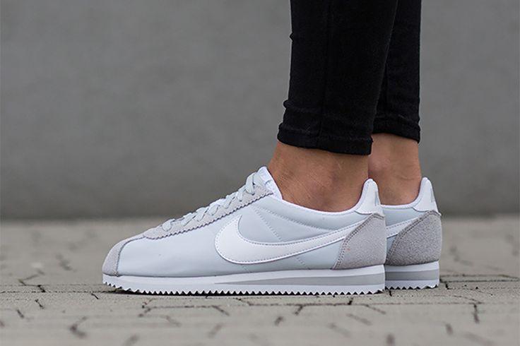 """Zobacz najnowsze damskie Nike Cortez Nylon """"Pure Platinum""""!"""