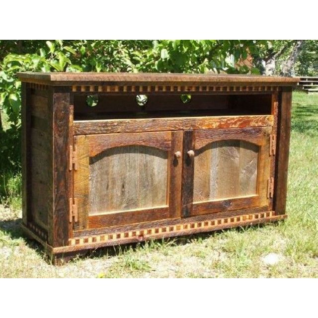17 best ideas about reclaimed wood tv stand on pinterest rustic tv stands entertainment stand - Reclaimed wood tv stand ideas ...