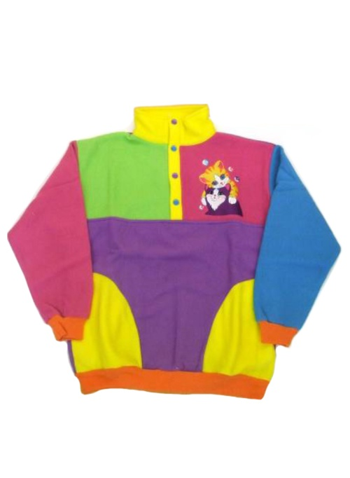Lisa Frank clothing line. Possibly the most beautiful sweater I have ever seen.