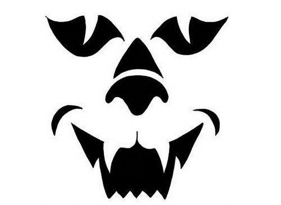 scary halloween pumpkin faces templates halloween pumpkin faces - Halloween Pumpkin Carving Faces