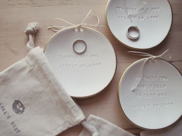 adorable ring plates!