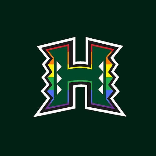 Warriors New Stadium Virtual Tour: Hawai'i Logo 7 @SamSpanglerKHON @DeMello_Rob @RonMizutani
