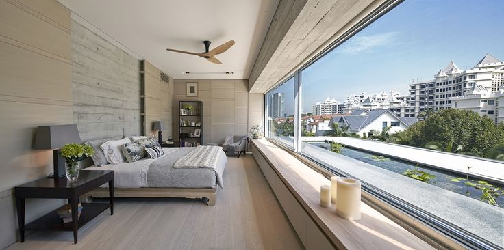 Blurring the boundaries of the indoors and outdoors by WOW Architects   Warner Wong Design