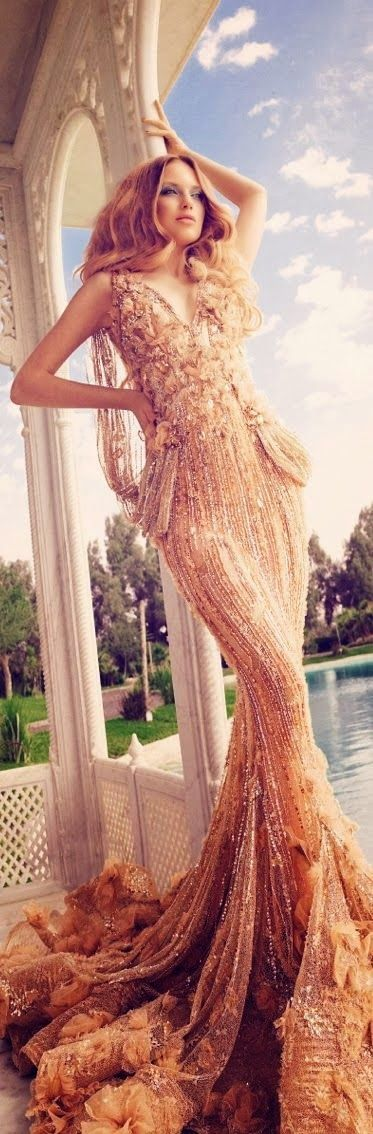 Charming Long Evening Dress for Ladies... extremely beautiful