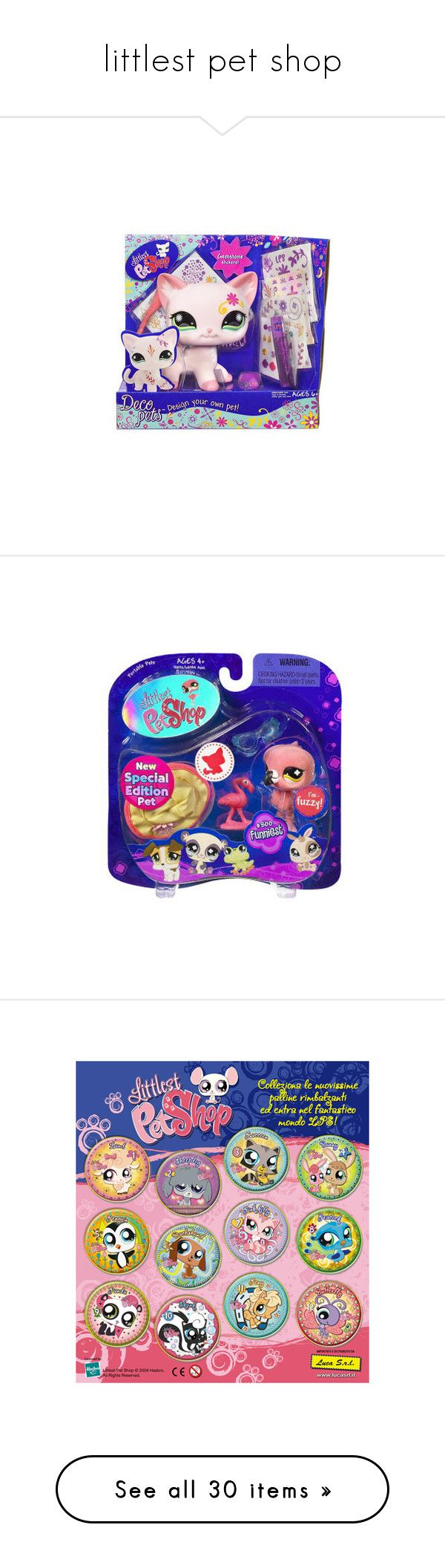 """littlest pet shop"" by skrzypa5 ❤ liked on Polyvore featuring toys, stuffed animals and lps"