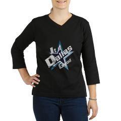 Dallas  Cowboys 3/4 Sleeve T-shirt (Dark) > Dallas > Twilight Years Creative Art T-Shirts and Gifts