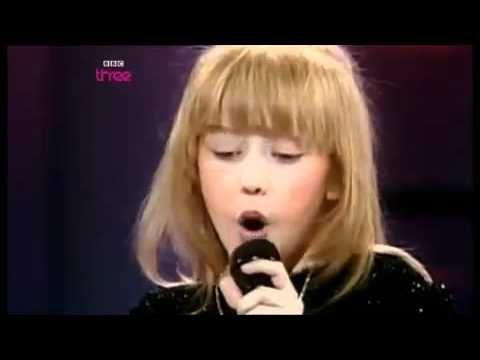 Christina Aguilera at 8.
