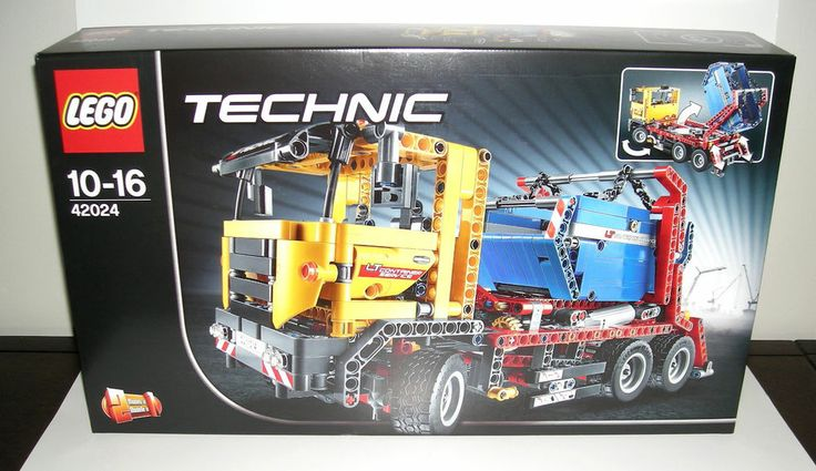 LEGO Technic Container Truck 42024 Road Grader 2 in 1 Set NEW FREE U.S. SHIPPING