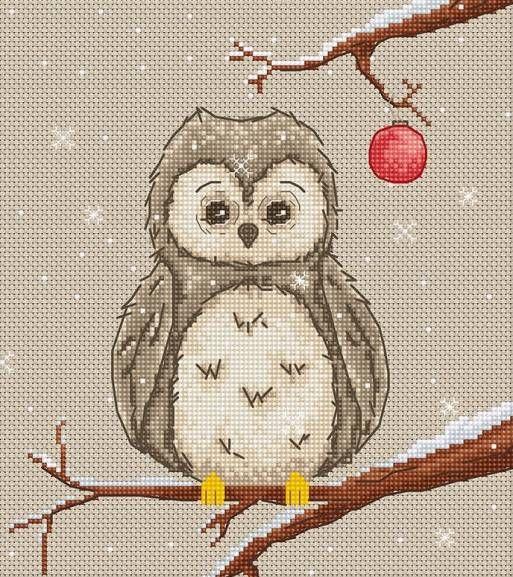 Owl Cross Stitch Kit £15.25 | Past Impressions | Luca-S