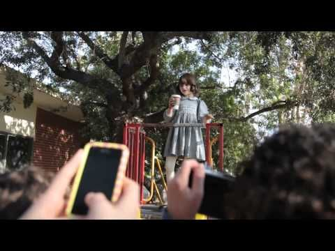 cast of Parenthood in Landon Pigg's music video of Girl on TV.  Love the show, love the song