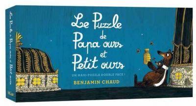 le puzzle de papa ours et petit ours : chaud, benjamin
