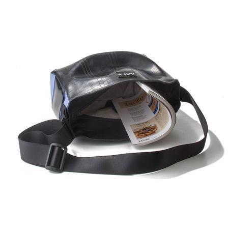 €110 Kadesh. http://kheperbags.it/en/1020/Kadesh.htm Made with the soft tube-sided, side PVC, external cell phone pocket, adjustable shoulder strap, zip closure.