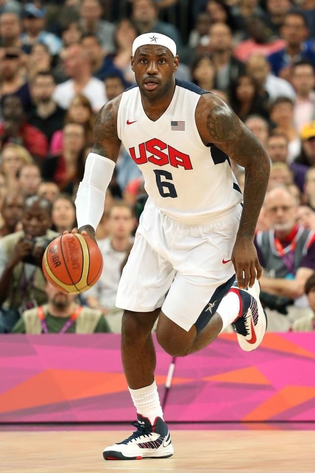 James at the Olympics